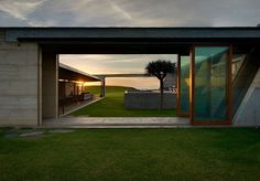 Located on the south coast of New South Wales The Farm was designed by Fergus Scott Architects and built by Join Constructions Photography credit: Michael Nicholson Residential Building Design, Residential Architecture, Sustainable Architecture, Modern Architecture, Australia Beach, Australian Architecture, Exterior Cladding, Interior And Exterior, Interior Design