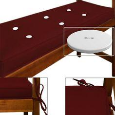 Coussin / Galette chaise ou fauteuil de jardin vert olive ...