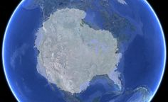 Antarctica laid over the United States: | 27 Pictures That Will Change The Way You Look At The World