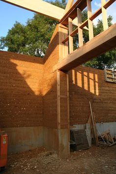 #rammedearth construction