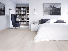 5G0434 i-do Parkett Landhausdiele XL Eiche Family harmony weiß matt lackiert