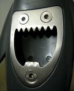 Laughing bottle opener (Picture: AARIENNE VAN SCHOONHOVEN/MERCURY PRESS)