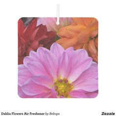 #Dahlia Flowers Air Freshener @bebopsplace