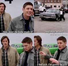 I feel like Jensen didn't even have to act for this scene