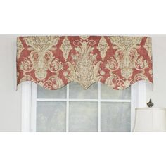 Red Barrel Studio Dunnes Regal Window Valance Color: C Tier Curtains, Hanging Curtains, Valance Curtains, Valance Window Treatments, Custom Window Treatments, Waverly Valances, Contemporary Window Treatments, Kitchen Redo, Kitchen Design