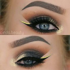 This creative cut crease by @cinda.beauty ft. our #BoudoirLashes is giving us everything and more! #houseoflashes #lashgamestrong #cutcrease