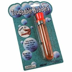 Uncle Bubble-Test Tube Touchable Bubbles by D Now Inc