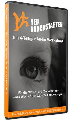 Für Alle, die in einer toxischen Beziehung waren oder immer noch sind, ist dieser 4-Wöchige Audio-Workshop eine Hilfe bei der Heilung der tiefen Wunden.