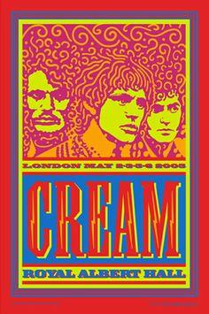 John Van Hamersveld Cream Signed Poster http://www.dking-gallery.com/store/VAN_finalcream_6signed.html