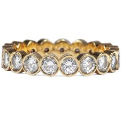 Eternal Flame - Vintage Memory-Ring mit 1,90 ct Diamanten in Gold, um 1990 von Hofer Antikschmuck aus Berlin // #hoferantikschmuck #antik #schmuck # #antique #jewellery #jewelry // www.hofer-antikschmuck.de (21-1673)