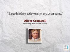 Oliver Cromwell fue un líder político y militar inglés. Convirtió a Inglaterra en una república denominada Mancomunidad de Inglaterra.
