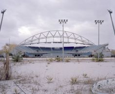 Abandoned Olympic Venue in Athens