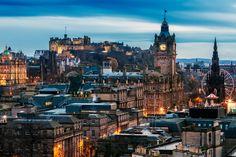 The It's Travel O'Clock Travel Bucket List 2016 | Edinburgh
