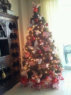 Olivia the Pig christmas tree for my Olivia