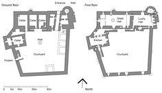 Doune Castle plan