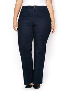 ONLINE ONLY - d/c JEANS Tall Slightly Curvy Fit Wide Leg Jean