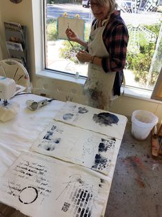 Donna Downey Art Journal Inspiration pages from Metamorphosis 2 day retreat.