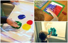 Possiamo offrire la più ampia libertà creativa ai bambini senza preoccuparci di dover pulire e riordinare? Con lalavagna magica fai da tediamo ai bambin