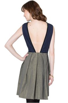 We're seriously considering snapping up a sexy backless dress for Valentine's Day...