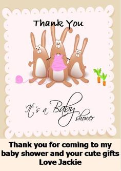 Baby Shower Thank You Note Tips