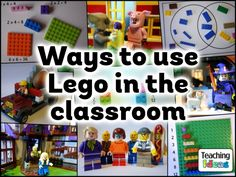 Ways to Use Lego in the Classroom - A HUGE list of ideas in many different areas of the curriculum!
