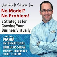 "Heading to the International Builders Show? I'll be there presenting a special session called ""No Model - No Problem"" - PLUS - I'd like to invite you to have breakfast on me. http://lnkd.in/drTRCuB"