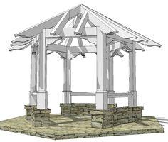Octagonal Timber Frame