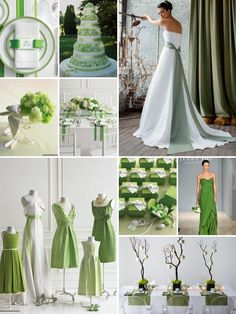 Photo via Green cupcakes Wedding and Green weddings
