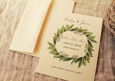 Vintage Lily Wedding Save The Date Rustic by KayleighDuMond, $20.00