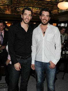 """Property Brothers Make People's """"Sexiest Man Alive"""" List! http://www.realstylenetwork.com/news/celebrities/2013/11/property-brothers-make-peoples-sexiest-man-alive-list-2/"""