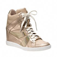 these are finally mine (Coach Sneaker Wedges), and i wear them with everything!