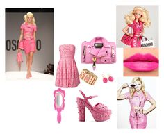 Look Moschino Barbie part 3 by gabiure on Polyvore featuring moda, Moschino Cheap & Chic, Moschino and Tom Ford