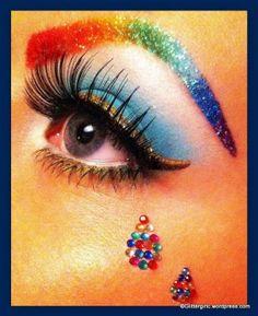 Rainbow Eyes - GlitterGirlC