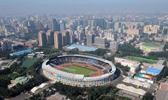 OLY-CHINA-BEIJING-OLYMPIC SPORTS VENUES-AERIAL VIEW (CN)