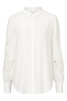 Filippa Embroidered Blouse | Clothing