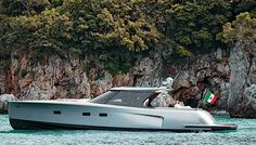 Sleek & beautiful Maxi Dolphin MD53 Power boat by Maxi Dolphin. http://www.maxidolphin.it/ #z3