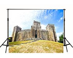 6.5 x 5FT Wedding Photography Background Fortress Castle Backdrops Photo Stone in Land Steps Studio Fotografia