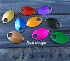 Anodized Aluminum Scales Small - Dragon Scale chainmail chain maille
