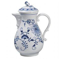 Meissen Blue Onion Coffee Pot