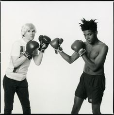 warhol basquiat - Google Search