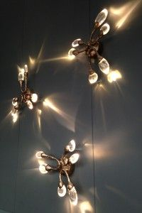 A little snippet of paradise at the Ochre stand with the perfect three of their Celestial Pebbles and Damselfly wall lights.  Ochre are simply heaven!