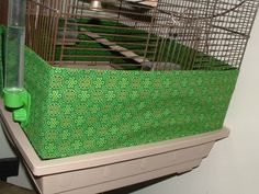 Celtic & Leaf Print Bird Cage Seed Catchers - HOME SWEET HOME