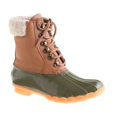 J.Crew - Sperry Top-Sider® for J.Crew leather shearwater boots