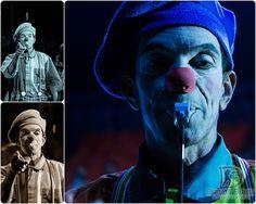 Clown getting closer and closer / Palhaço se aproximando