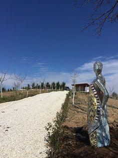 Mozaik Sanat Evi: Mozaik heykeli