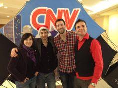 Bruno Labrie avec Natalie Byrns en entrevue à CNV !