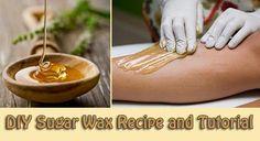 DIY Sugar Wax Recipe and Tutorial