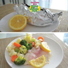 Baked Fish and Veggies Recipe | OrganWise Guys Blog