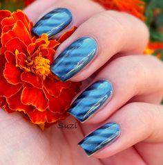 PUPA Magnetic Nail Polish, 33 Magnetic Blue Nail Polishes, Nails, Magnetic Nail Polish, Gemstone Rings, Gemstones, Blue, Style, Finger Nails, Swag