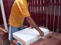 Gratar de gradina din caramida - ziua 2 / Brick BBQ - day 2 - YouTube Plastic Cutting Board, Youtube, Atelier